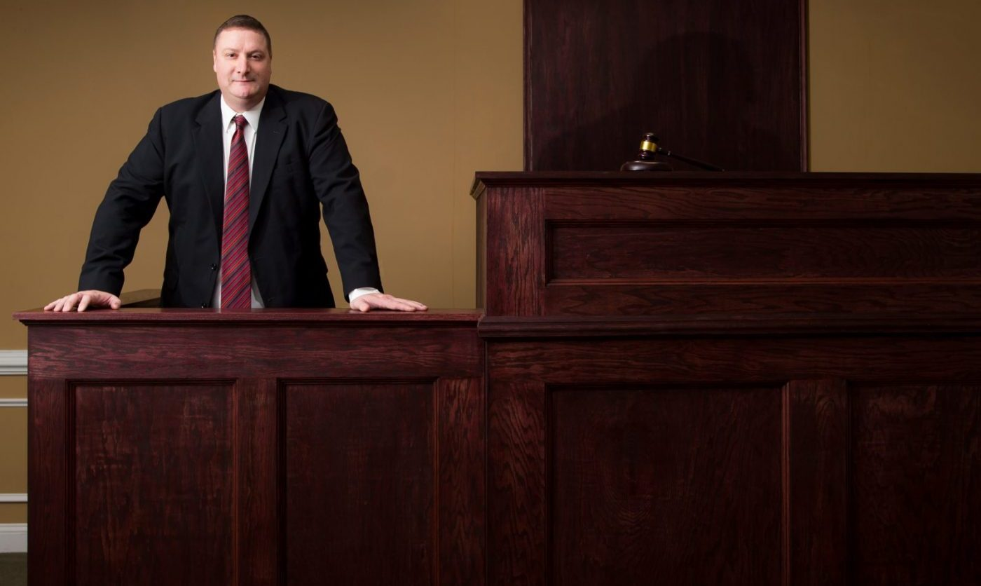 Attorney William J. Luse in the Courtroom